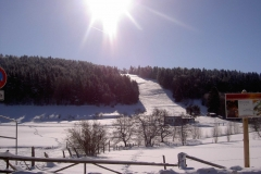Skilift gegenüber Haus Hannelore