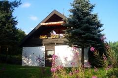 Garten Haus Hannelore im Sommer