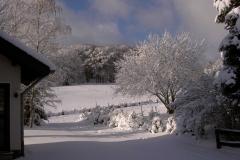 Winter vor dem Haus Hannelore